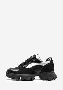 VM-Villomi Жіночі чорні кросівки з срібними вставками