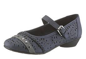 Жіночі туфлі CITY WALK 38 темно-синій (1189130003038)