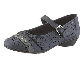 Женские туфли CITY WALK 36 темно-синий (1189130003036)