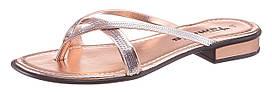 Жіночі шльопанці Tamaris 36 темно-рожевий (1191090024636)