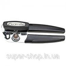 Консервный нож Kamille 5068 удобный компактный металический пластиковый острый для банок консерв