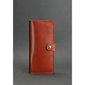 Шкіряне портмоне 7.0 світло-коричневе