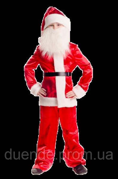 Санта Клаус новогодний карнавальный костюм для мальчика / BL -  ДНг15