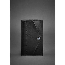 Кожаный блокнот (Софт-бук) 2.0 черный