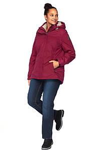 Жіноча куртка KILLTEC 52 малиновий (1245220026144)