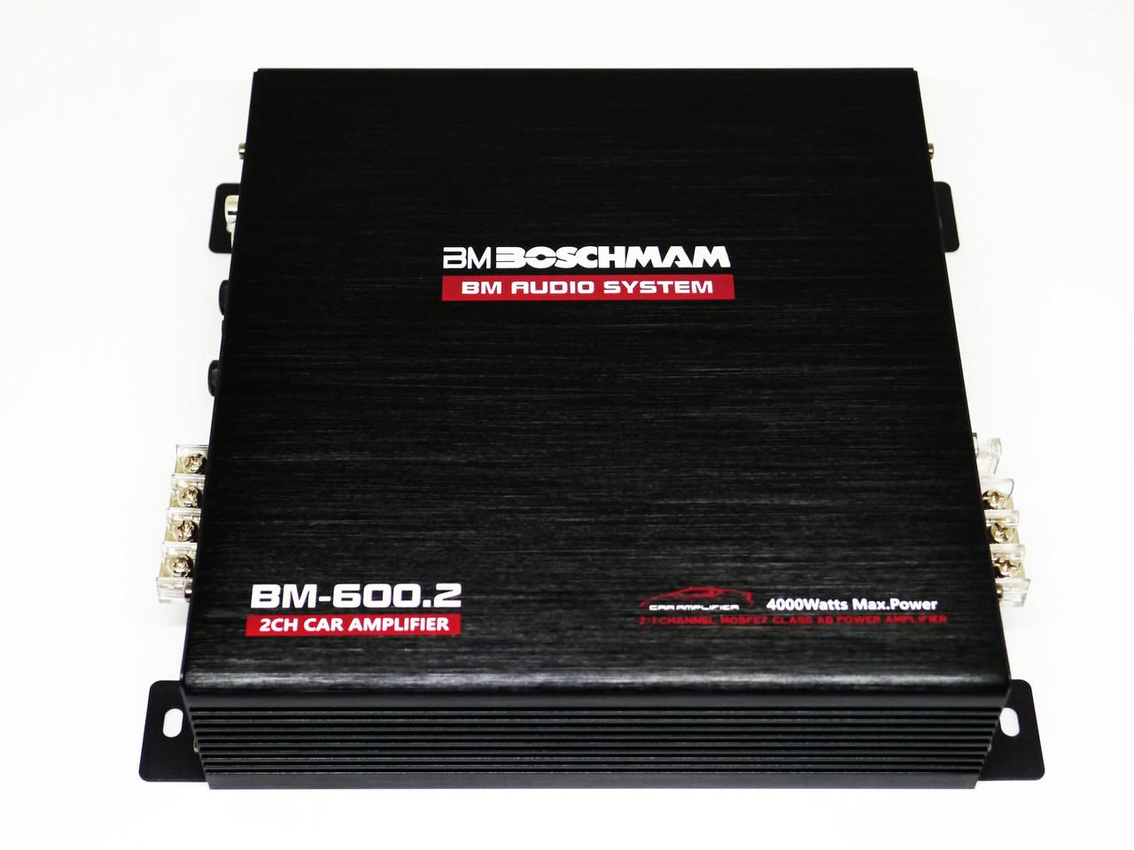 Автомобильный усилитель звука 4000 Вт Boschmann BM-600.2