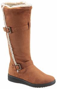Жіночі чоботи CITY WALK 37 коньячний (1254100006537)