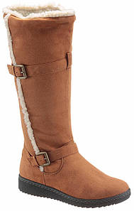 Жіночі чоботи CITY WALK 36 коньячний (1254100006536)