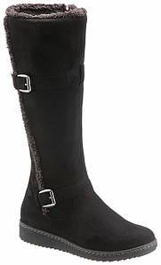 Жіночі чоботи CITY WALK 37 чорний (1254100028937)