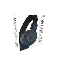 Наушники беспроводные \ Наушники Bluetooth DEEPBASS L100X Black