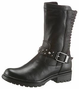 Жіночі чоботи Tamaris 36 чорний (1254680028936)