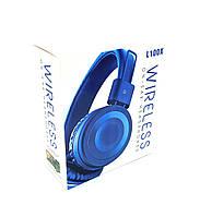 Наушники беспроводные \ Наушники Bluetooth DEEPBASS L100X Blue