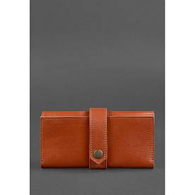 Шкіряне портмоне 3.0 світло-коричневе