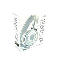 Наушники беспроводные \ Наушники Bluetooth DEEPBASS L100X White