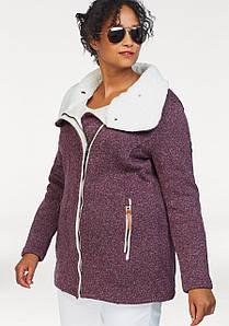 Жіноча спортивна куртка Polarino 58 бордовий (1290330188850)