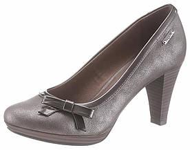 Жіночі туфлі Bugatti 37 срібний (1299560053837)