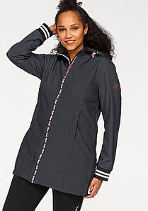 Жіноча спортивна куртка Ocean Sportswear 50 чорний (1247350010542)