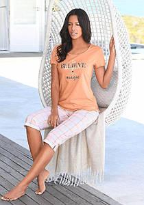 Женская пижама VIVANCE 52/54 абрикосовый (12515400767444)
