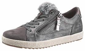 Жіночі кросівки Tom Tailor 37 темно-сірий (1253700011537)