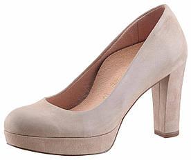 Жіночі туфлі Tamaris 38 бежевий (1254380078038)