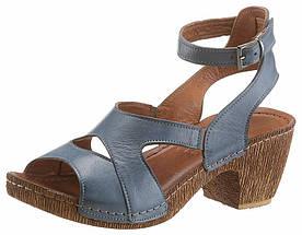 Жіночі сандалі Gemini 36 джинсовий (1279620001736)