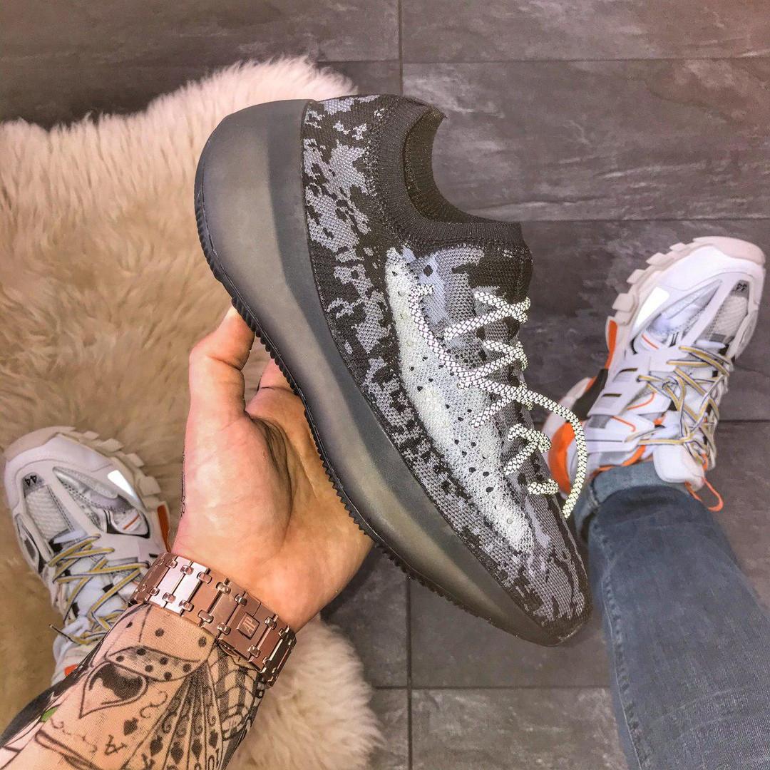 Adidas Yeezy Boost 380  Alien Black (Черный)