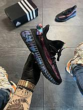 Adidas Yeezy Boost 350 v2 Black Blue camo (Чорний)
