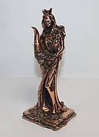 Статуэтка Фортуна с рогом изобилия 21 см с медным покрытием