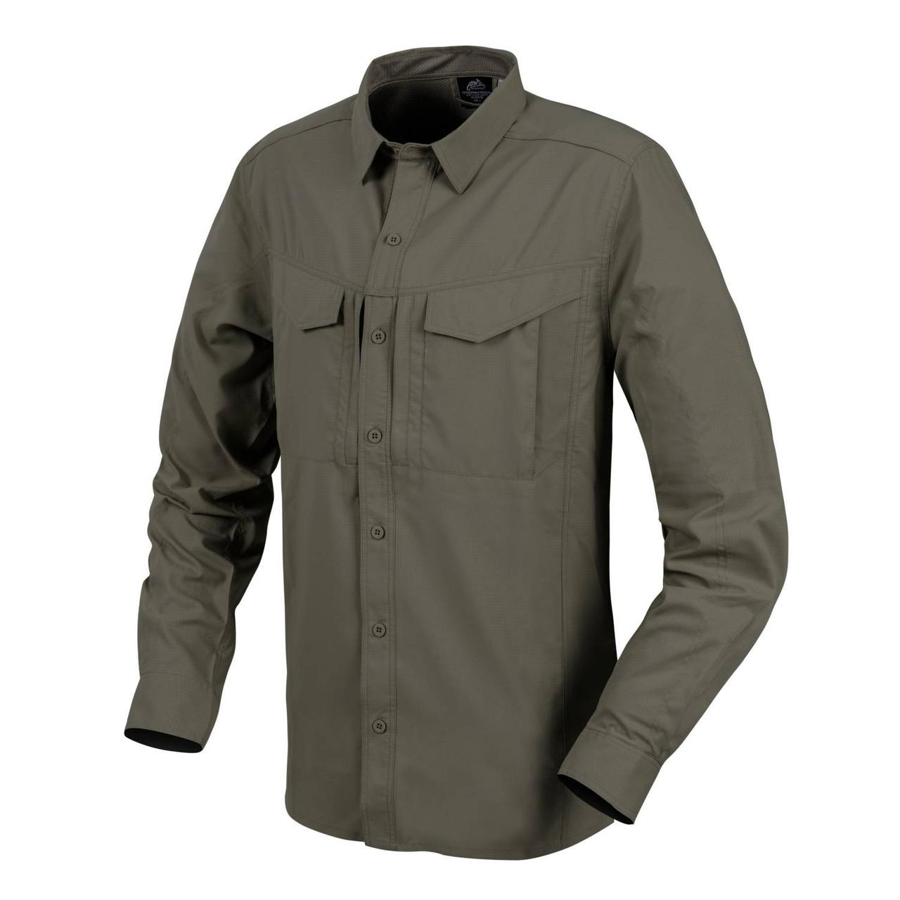 Сорочка з довгим рукавом Helikon-Tex® DEFENDER Mk2 Tropical Shirt® - Dark Olive