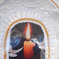 """Набор ритуальный """"Элит """" белый, фото 1"""