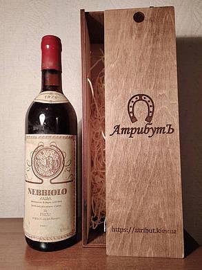 Вино 1976 года Nebbiolo d'Alba Италия, фото 2