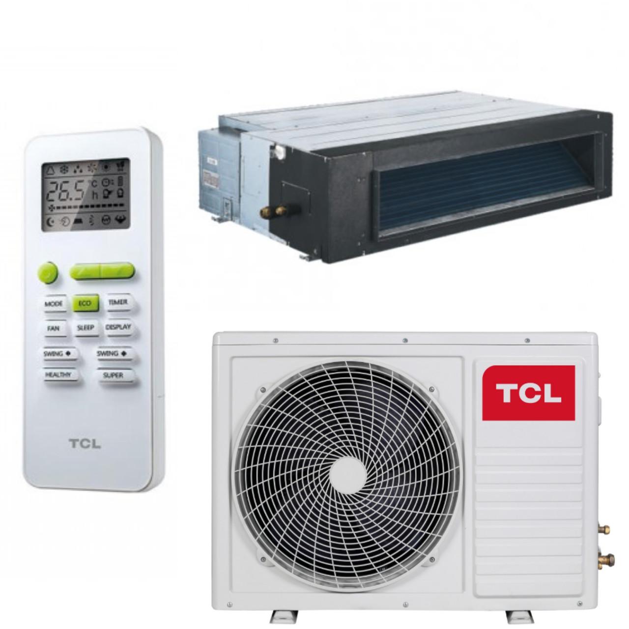 Канальный кондиционер 24000BTU до 70 м2 TCL TCC-24D2HRA/UI/TCC-24HRA/UO