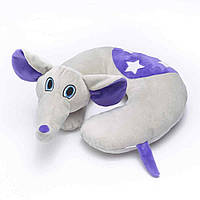 Детская подушка - игрушка для путешествий под шею Travel Blue Flappy the Elephant / Слон детская