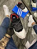 Adidas Nite Jogger 3M Black White (Чорний), фото 3