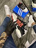 Adidas Nite Jogger 3M Black White (Чорний), фото 4