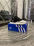 Adidas Nite Jogger 3M Black White (Чорний), фото 2