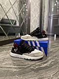 Adidas Nite Jogger 3M Black White (Чорний), фото 5