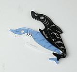Міні-Мультитул NexTool EDC box cutter Shark KT5521Blue, фото 5