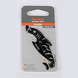 Міні-Мультитул NexTool EDC box cutter Shark KT5521Blue, фото 6