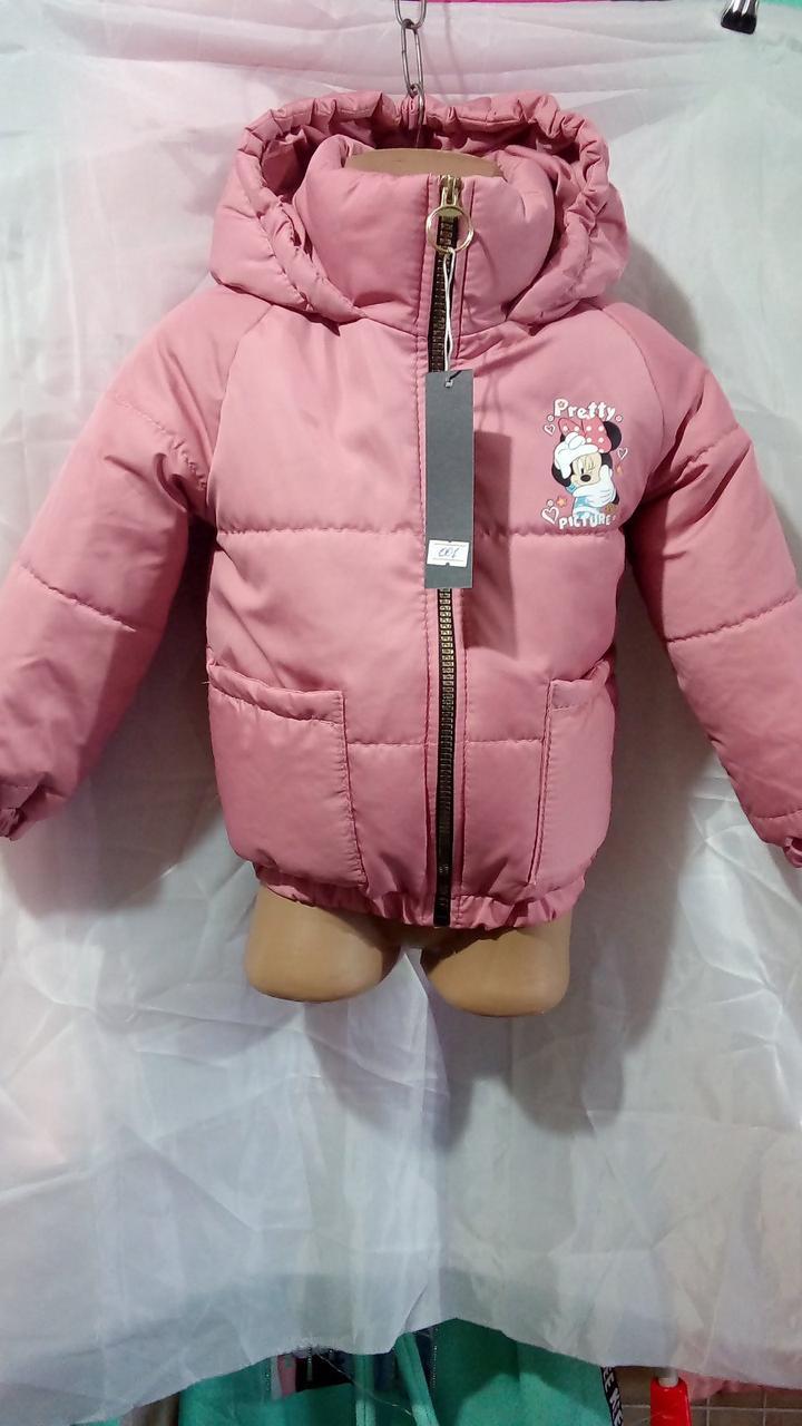 Дитяча куртка для дівчинки Mickey р. 86-104