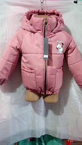 Дитяча куртка для дівчинки Mickey р. 86-104, фото 2