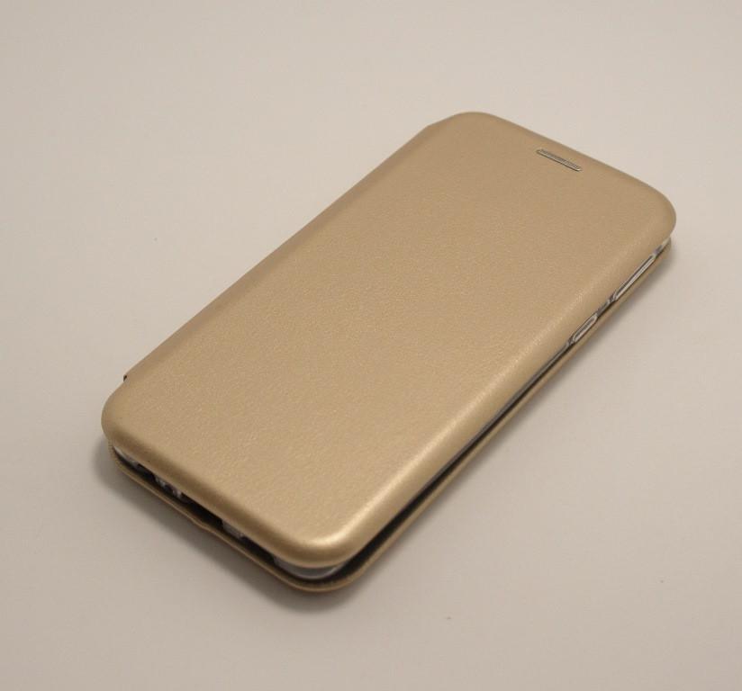 Чехол-книжка для Samsung A01 2020 A013F золото Aspor