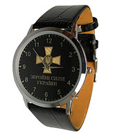 Годинник наручний Збройні Сили України, ЗСУ, іменний годинник, нагорода, подарунок військовому, ремінець 20 мм