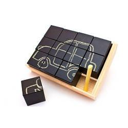 Набір кубиків для малювання крейдою, 12 шт
