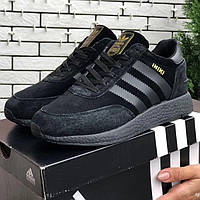 Кроссовки Женские/Мужские замш Adidas INIKI for men.