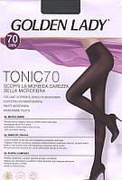 Плотные велюровые колготки GOLDEN LADY TONIC 70