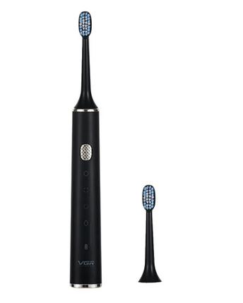 Аккумуляторная электрическая зубная щетка VGR V-809 USB Original (4 режима), фото 2