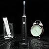 Аккумуляторная электрическая зубная щетка VGR V-809 USB Original (4 режима), фото 5