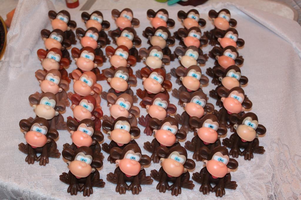 Смешная обезьянка - верх обаяния!!! Корпоративный заказ 6