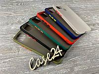TPU чохол накладка Matte Color Case (TPU) для OPPO A15 (6 кольорів)